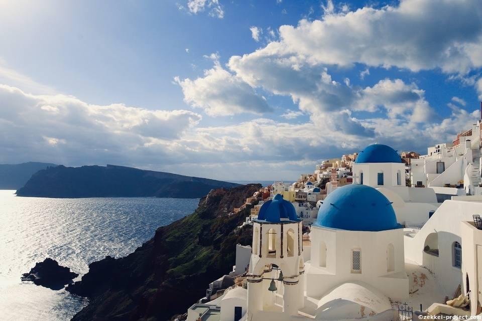 ギリシャの建物絶景写真 | 死ぬまでに行きたい!世界の絶景