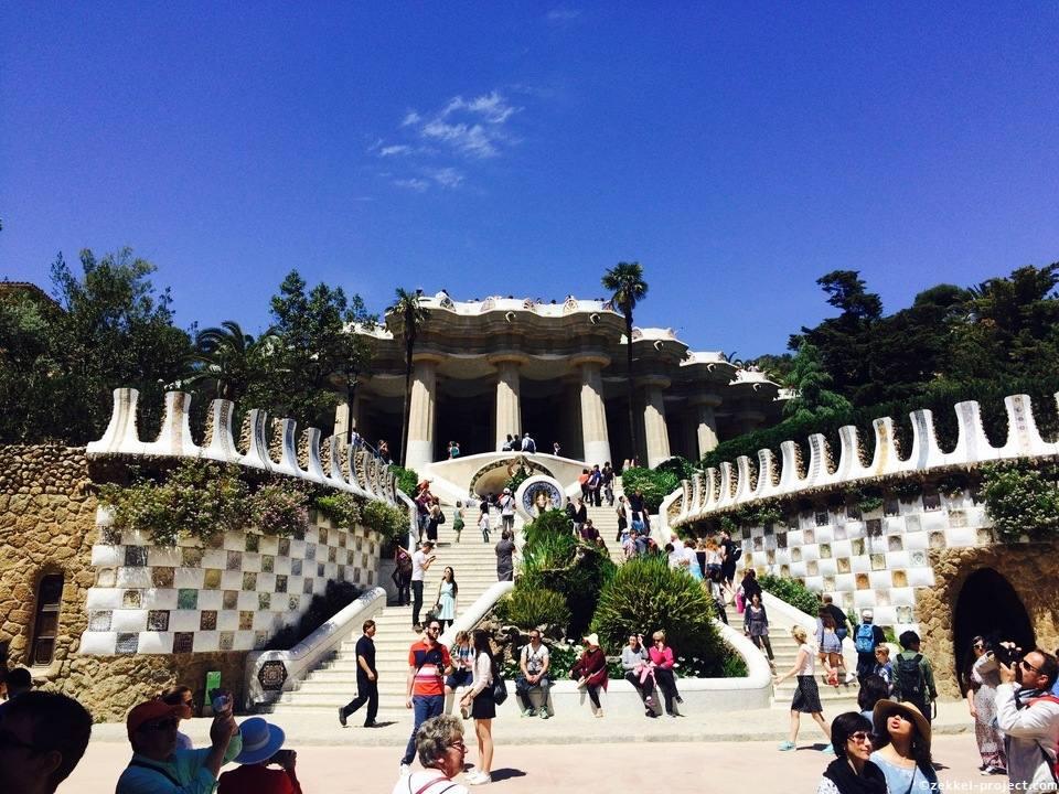 グエル公園(スペイン) | 死ぬまでに行きたい!世界の絶景