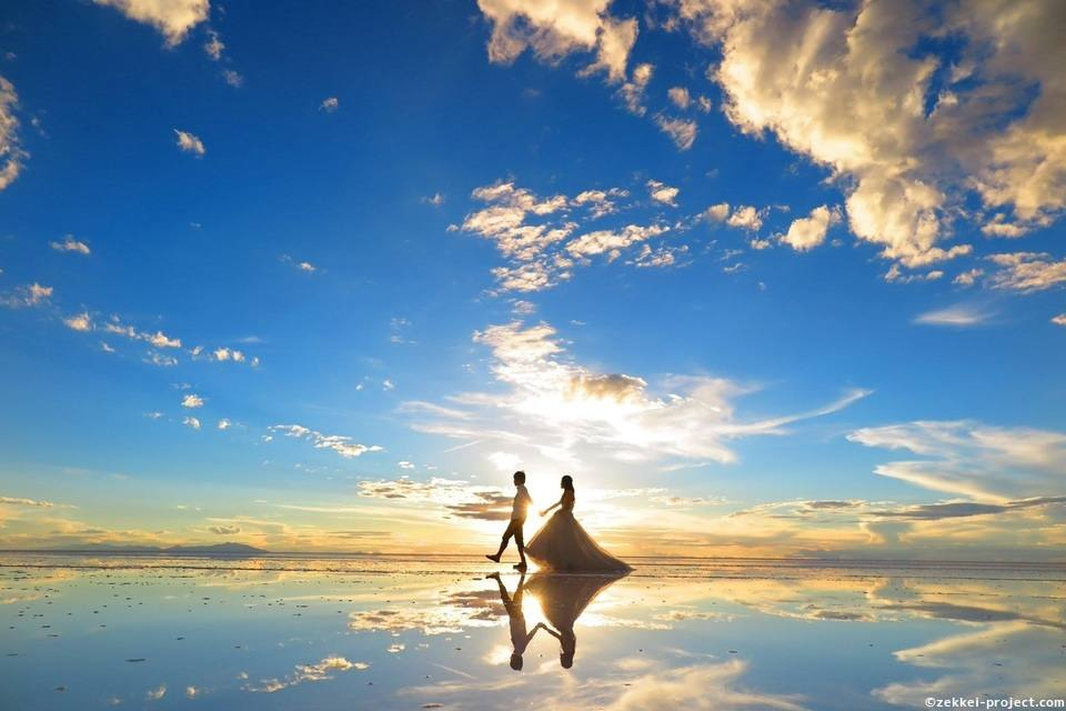 ボリビアのウユニ塩湖絶景写真 | 死ぬまでに行きたい!世界の絶景
